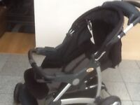 Super quality,tough,rugged Britax Voyaga Ultra pushchair-washed and cleaned,thickly padded
