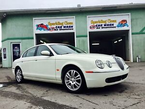 2008 Jaguar! S Type! Lic/Insp! Fully Loaded! White Leather!