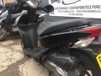 VISION 110cc 2012 BLACK IN VERY GOOD CONDITION FOR £1150