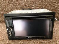 sony xav-602bt double din dvd head unit..