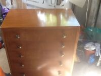 Chest of drawers Solid Wood in good condition