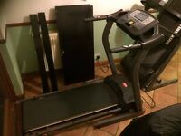 Treadmill, just needs replacement running board, everything else fully working