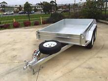 8x5 Heavy Duty Galvanised Rolled Body Trailer with Brake Holdfast Bay Preview