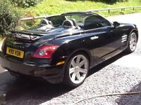 Chrysler crossfire roadster convertible