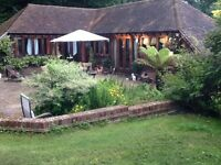 Oak barn to let.One large bedreoon and large studio living room