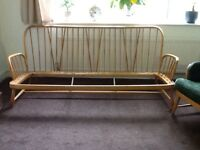 Ercol sofa and armchairs