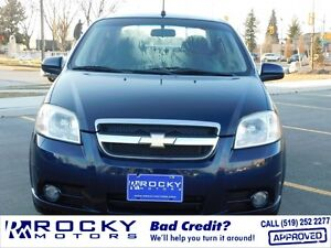 Chevrolet Aveo LT - BAD CREDIT APPROVALS @ ROCKYMOTORS.COM