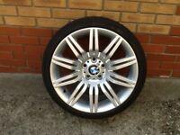 Genuine BMW 5 Series 19 inch Spider Alloys