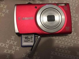 Brand New CANON Digital Camera Power shot A2600