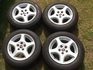 "Four 16"" X 8"" Toyota hilux mag wheels. 5 X 114.3 stud pattern. Prestons Liverpool Area Preview"