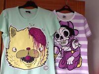 Drop dead t shirts