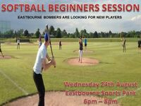 Eastbourne Softball Team looking for new players
