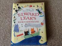 Brand new Usborne book - Edward Lear's book of nonsense.