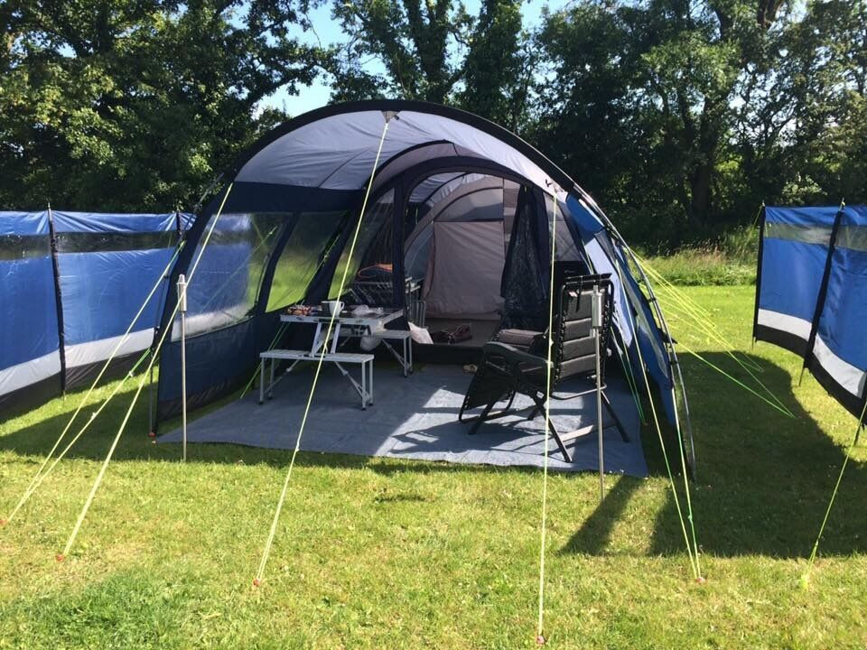 Outwell Whitecove 5 Tent & equipment for sale  in Leeds