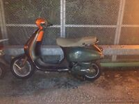 Both Vespa's. Need a bit of work but, full log books in tact.