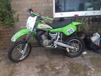 KX60 1994 JUST HAD FULL ENGINE REBUILD SWAPS FOR A BIGGER 2 STROKE ONLY NOT cr rm yz ktm
