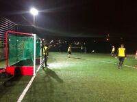 Play Football in Beckton. Friendly 7-a-side games. Everyone welcome.
