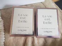 Lancome (LA VIE EST BELLE ABSOLU DE PARFUM) & Intense