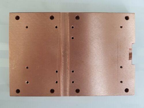 Copper plate 150х100х10mm size LDMOS PA amplifier