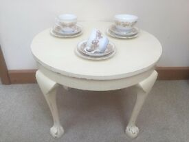Cream Shabby Chic Coffee Table
