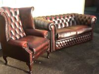 WANTED LEATHER CHESTERFIELD SUITE ANY COLOUR ANY CONDITION CAN COLLECT £££££££ CASH WAITING TO BUY