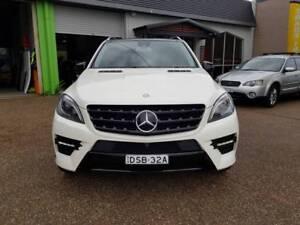 2013 Mercedes-Benz ML500 (4x4) 4.7L Bi-Turbo V8 - 7 Speed AUTO
