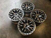"""18 19 20"""" Inch Audi R8 V10 style Alloy wheels A3 A4 A5 A6 A7 A8 Caddy Van Seat Leon Skoda 5x112"""