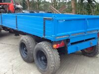 Tipping Trailer...Tractor