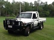 Toyota LandCruiser  2008 v8 turbo diesel tray back Woodbury Yeppoon Area Preview