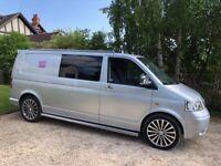 VW T5 2.5 L LWB 2006 Transporter Camper Van For Sale Near Stroud