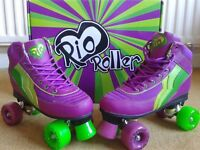 Rio Roller Boots (brand new never worn)