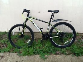 Mens mountain bike £180 quick sale genuine bicycle with receipt