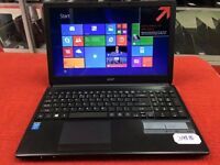 "Slim Acer Aspire E1-572- 15.6"" Laptop (Intel Core i7 4th Gen., 1.8GHz,750GB HDD ,6GB Ram)WIN 10"
