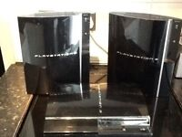 4 X PS3 GAMES CONSOLE