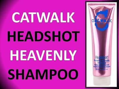 NEW! TIGI CATWALK HEADSHOT HEAVENLY HYDRATING SHAMPOO 8.45 OZ HEAD SHOT MOISTURE