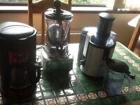 Job lot coffee maker, smoothie maker, juicer
