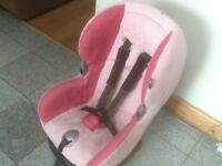 Maxi Cosi Priori group 1 car seat for 9mths to 4yrs(9kg -18kg)reclines,is washed&cleaned-£40