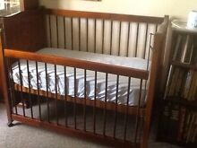 Baby cot with mattress Highbury Tea Tree Gully Area Preview
