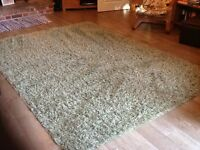 NEXT Rug Sage Green, approx 3m x 2m, very good condition