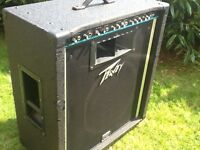 Peavey KB 300 keyboard amp Scorpion 15 speaker and horn great sound