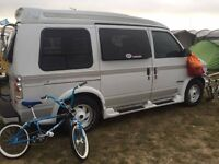 Chevy astro Starcraft, day van, 7 seater, camping, camper