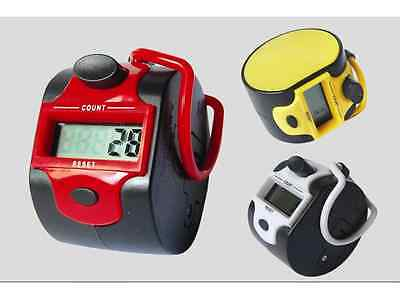 Electronic Digital Golf Finger Hand Tally Counter Counting Recorder, US Seller