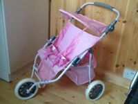 Dolls double buggy for sale