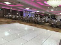 White led Dancefloor for sale 20 x20 feet