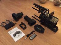 Sony NEX-FS700 4K Camera with Camtree Hunt Cage, Sony Lens & Extras