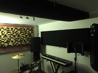 Cozy Rehearsal Space Available £5/h solo and £8/h band