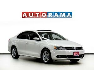 2013 Volkswagen Jetta TDI COMFOTLINE SUNROOF ALLOY WHEELS