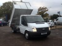 FORD TRANSIT 2.2 350 DRW TIPPER EURO5 99 BHP * 27000 MILES, FULL FORD HISTORY *