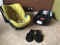 Cybex Aton car seat and base
