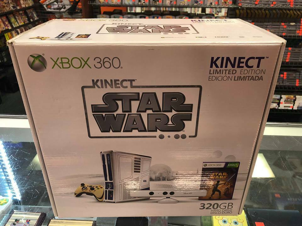 Xbox 360 - NEW SEALED! Microsoft Xbox 360 Kinect Star Wars Limited Edition 320GB Console